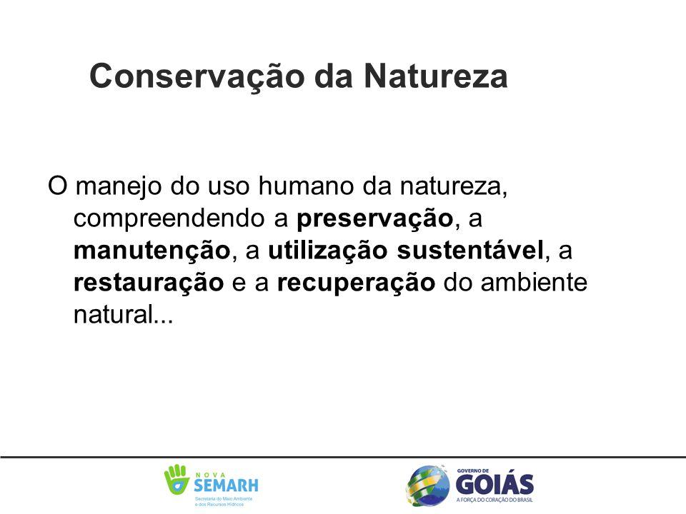 Conservação da Naturezaatureza