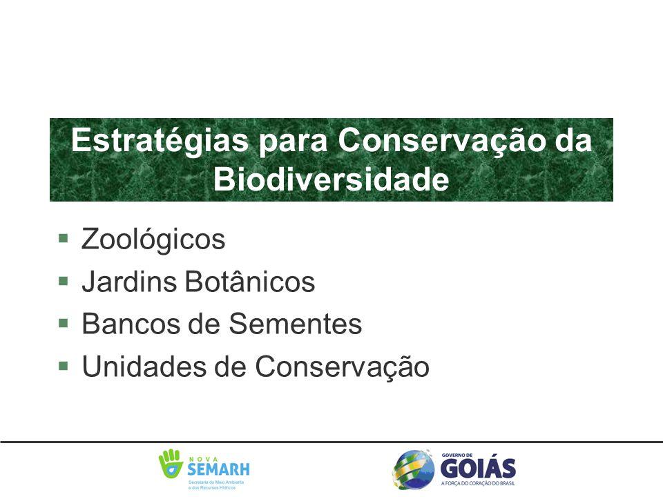 Estratégias para Conservação da Biodiversidade