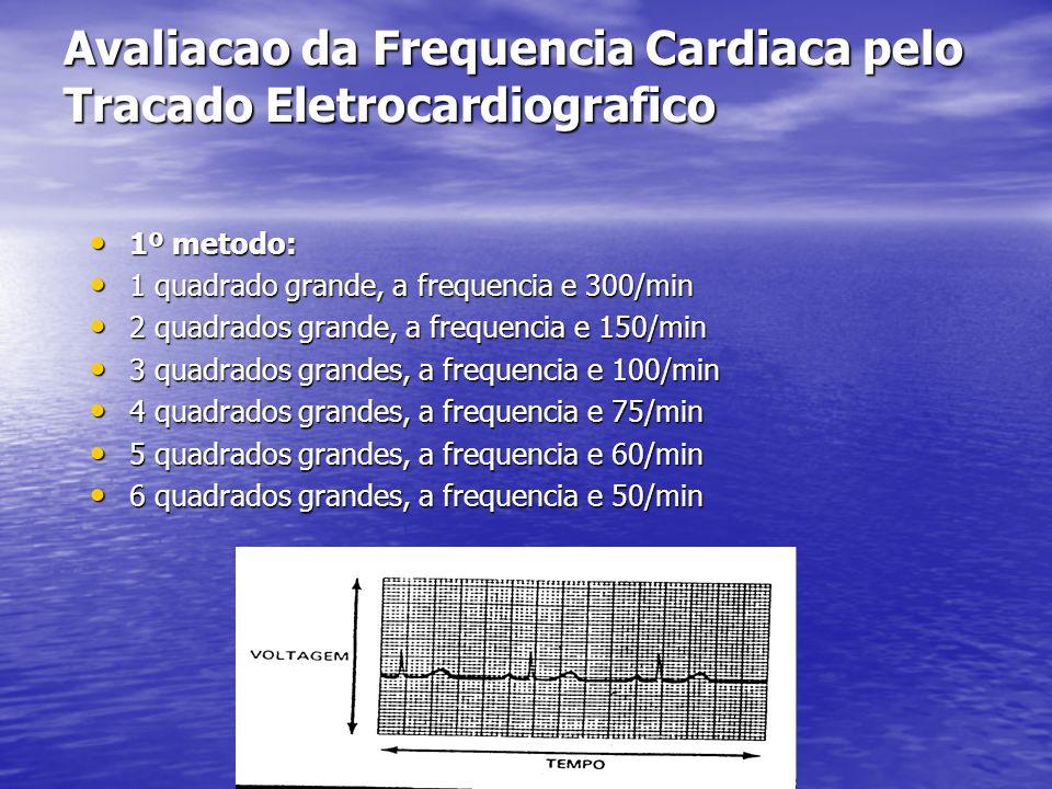 Avaliacao da Frequencia Cardiaca pelo Tracado Eletrocardiografico