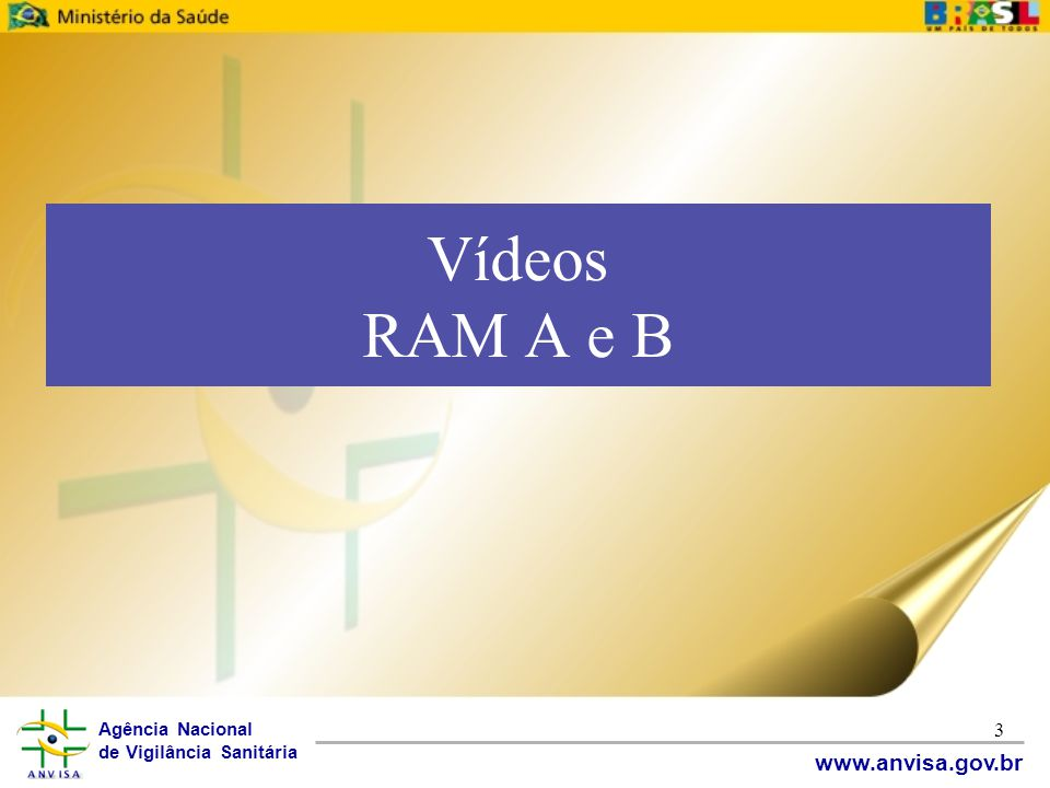 Vídeos RAM A e B