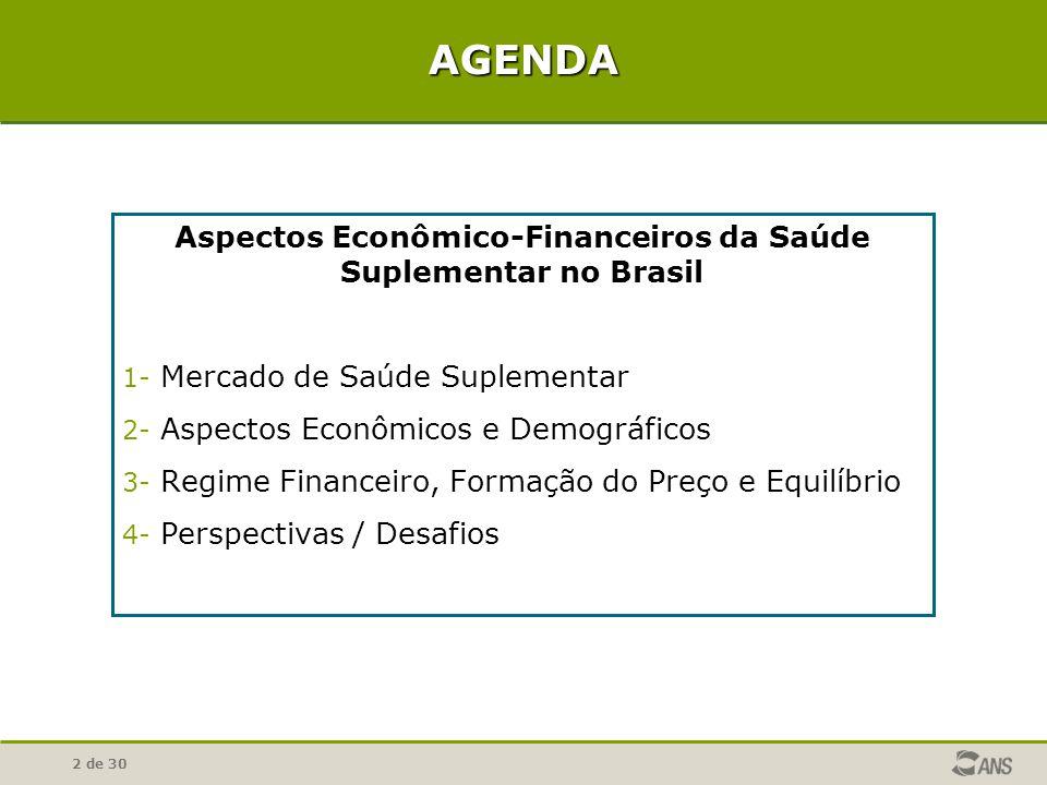 Aspectos Econômico-Financeiros da Saúde Suplementar no Brasil