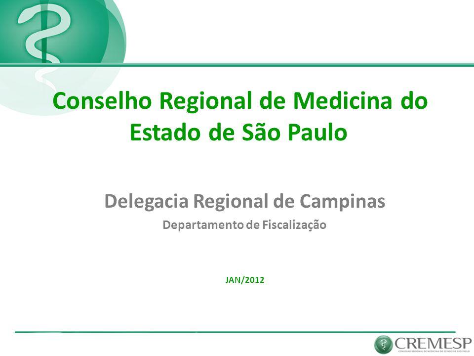 Delegacia Regional de Campinas Departamento de Fiscalização
