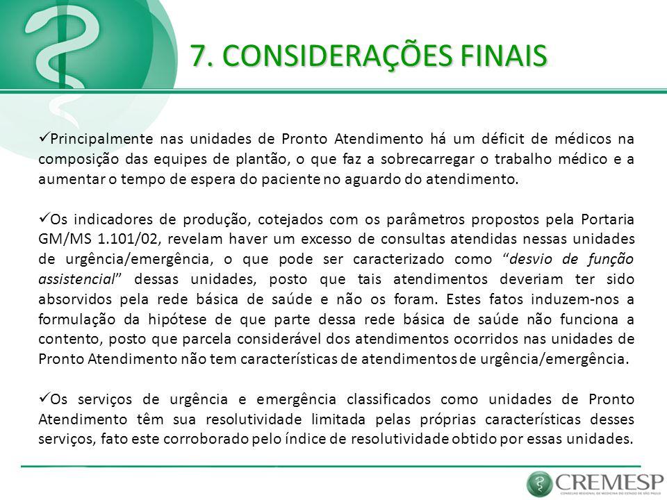 7. CONSIDERAÇÕES FINAIS