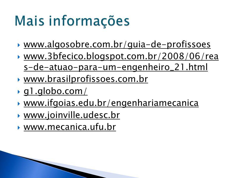 Mais informações www.algosobre.com.br/guia-de-profissoes