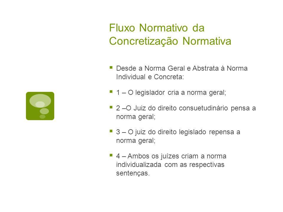 Fluxo Normativo da Concretização Normativa