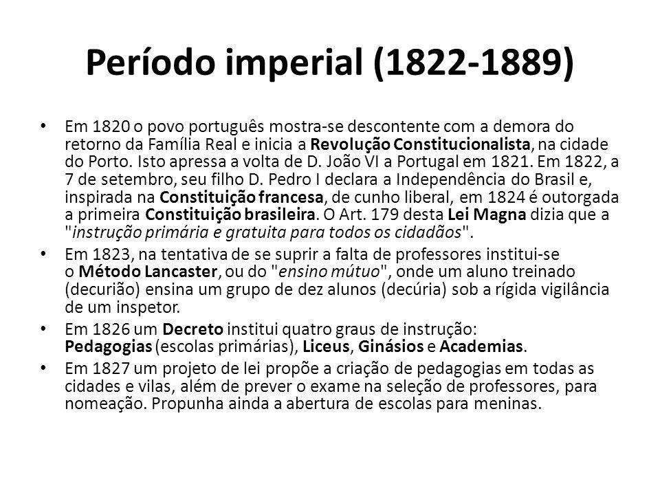 Período imperial (1822-1889)