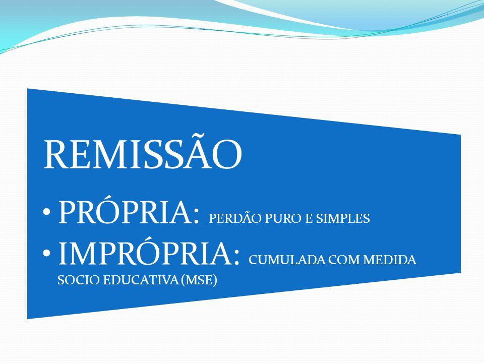 REMISSÃO PRÓPRIA: PERDÃO PURO E SIMPLES