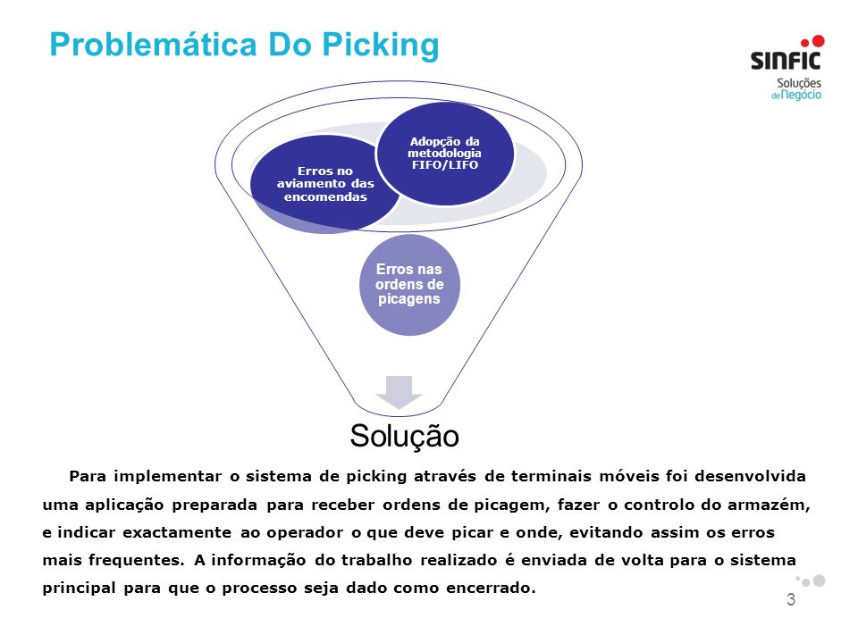 Problemática Do Picking