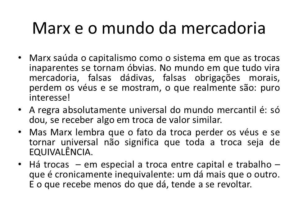 Marx e o mundo da mercadoria