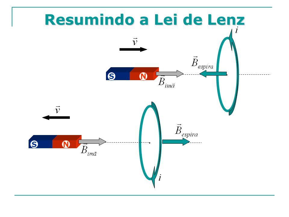 Resumindo a Lei de Lenz S N S N