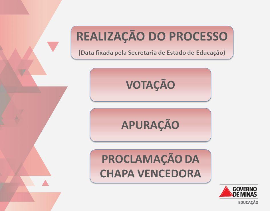 REALIZAÇÃO DO PROCESSO