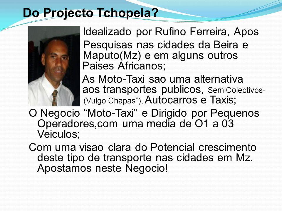 Do Projecto Tchopela Idealizado por Rufino Ferreira, Apos