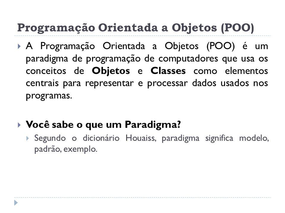 Programação Orientada a Objetos (POO)