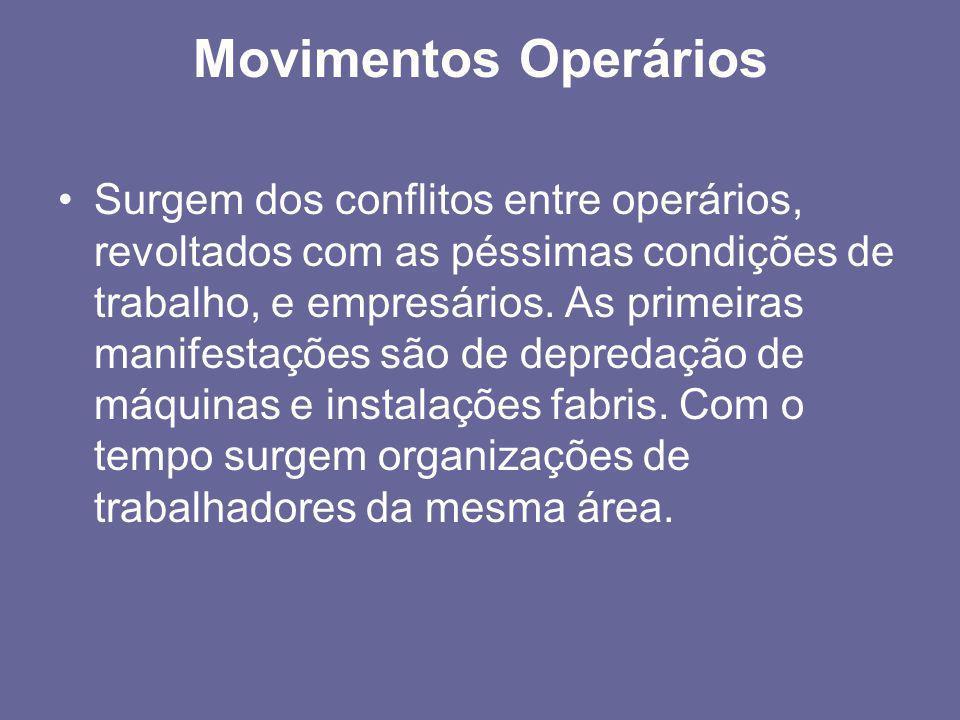 Movimentos Operários