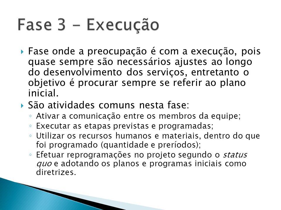 Fase 3 - Execução