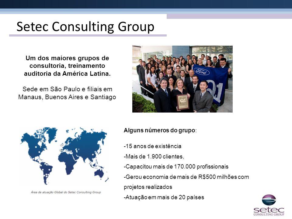 Sede em São Paulo e filiais em Manaus, Buenos Aires e Santiago