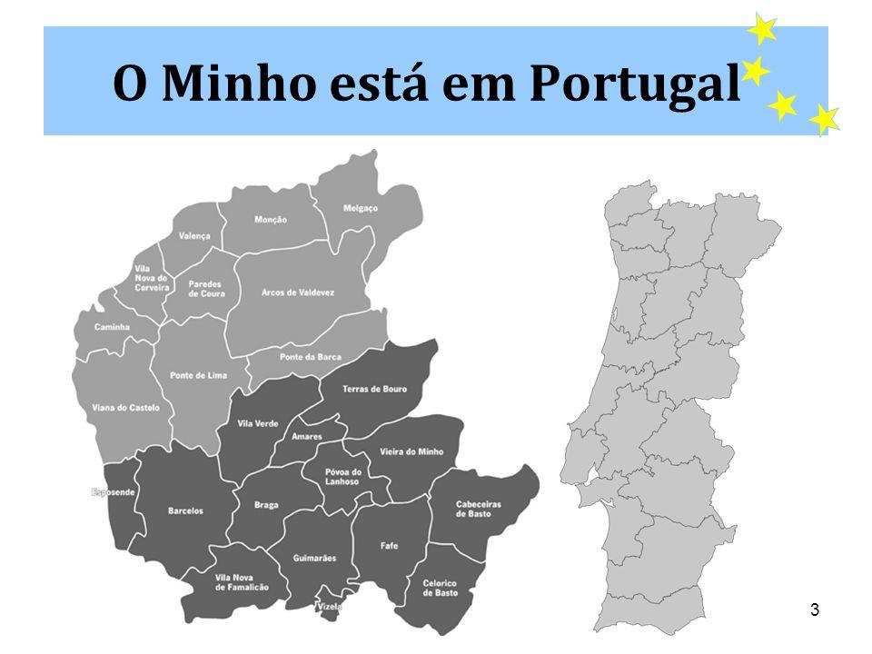 O Minho está em Portugal