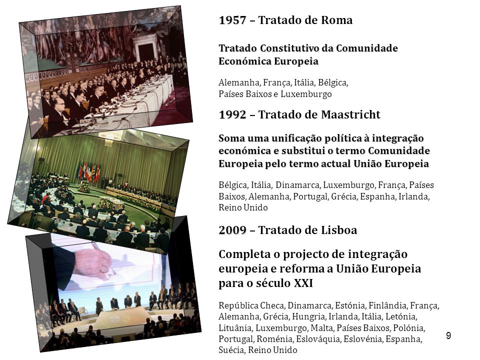 1992 – Tratado de Maastricht