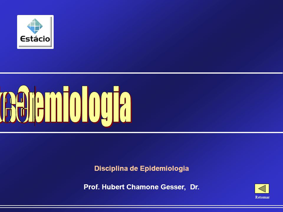 Causalidade em Epidemiologia