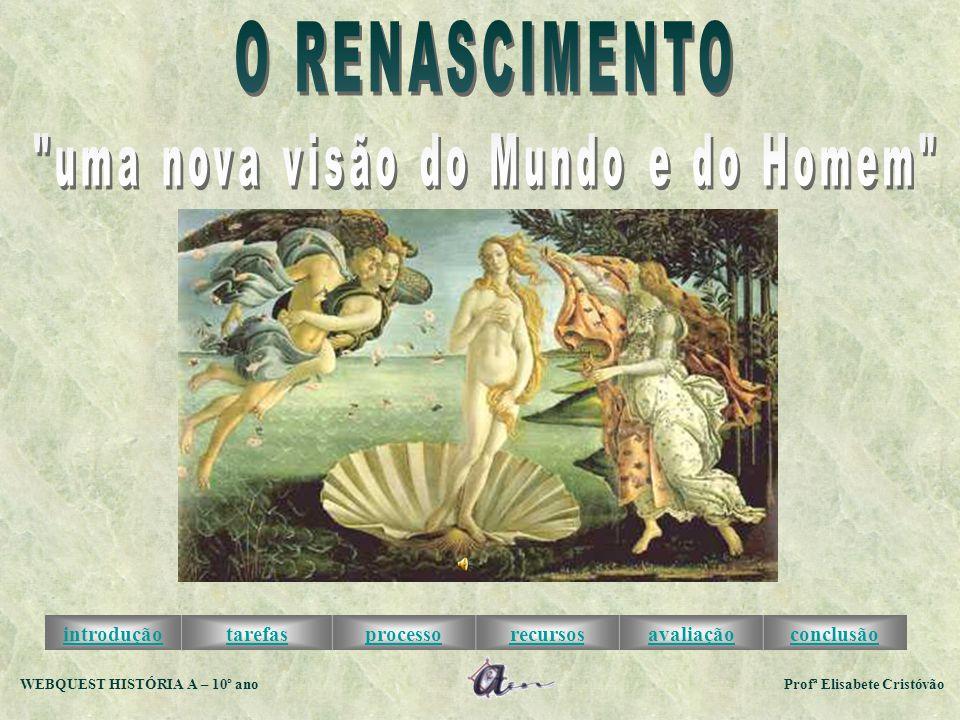 WEBQUEST HISTÓRIA A – 10º ano Profª Elisabete Cristóvão