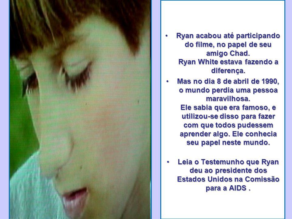 Ryan acabou até participando do filme, no papel de seu amigo Chad