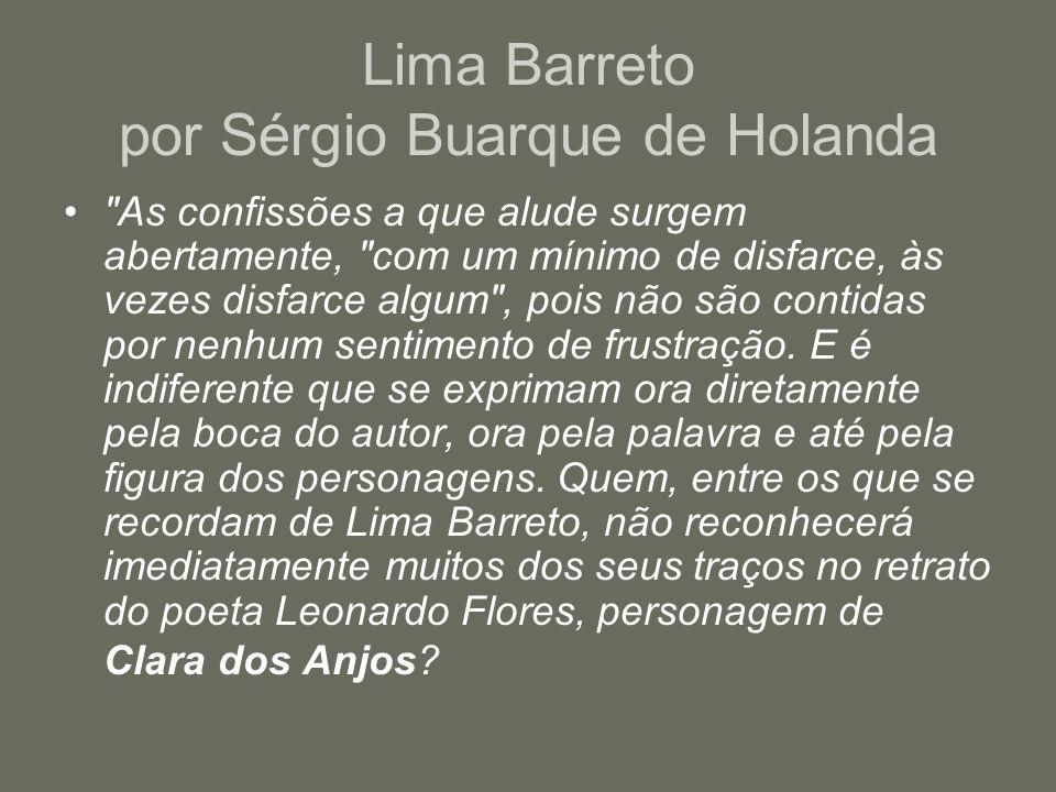 Lima Barreto por Sérgio Buarque de Holanda