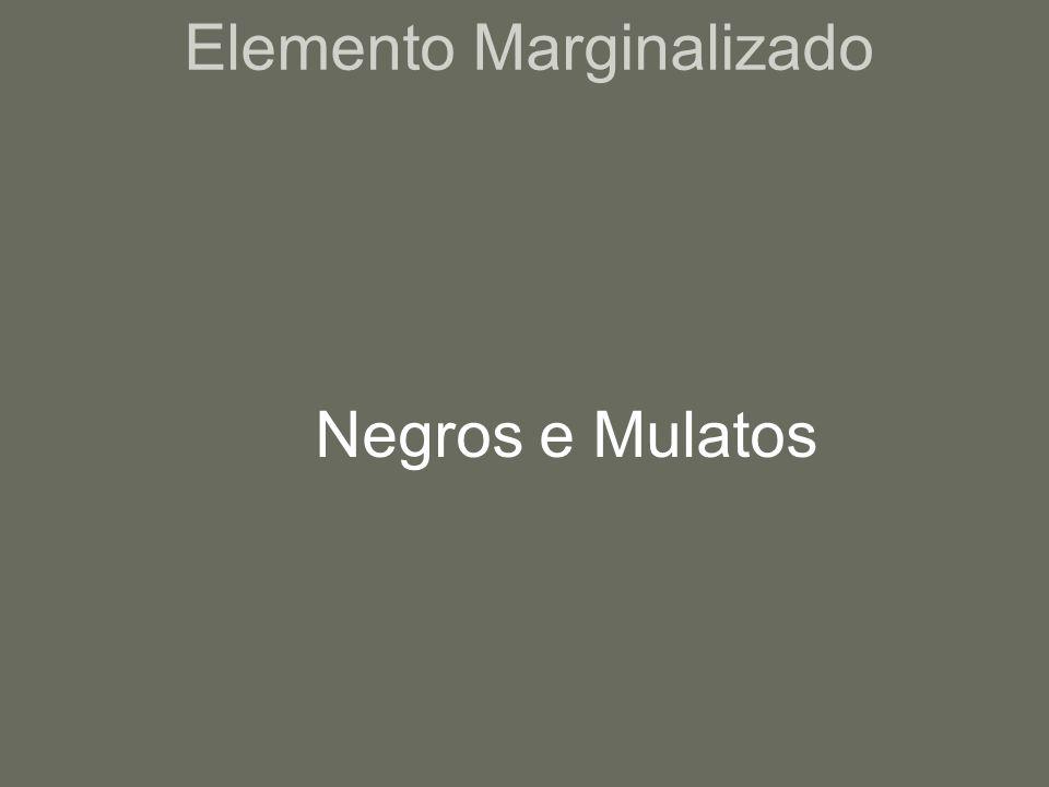 Elemento Marginalizado