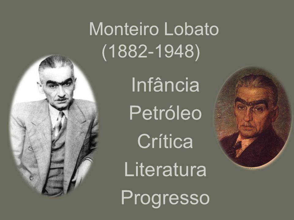 Monteiro Lobato (1882-1948) Infância Petróleo Crítica Literatura