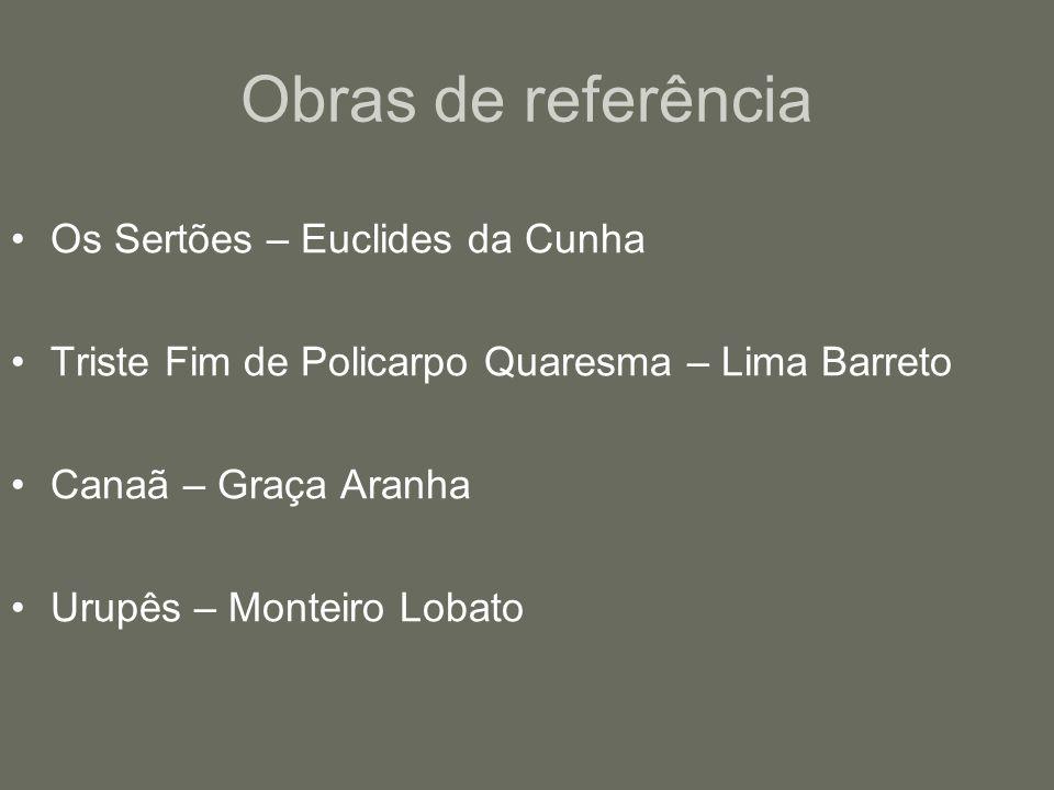 Obras de referência Os Sertões – Euclides da Cunha