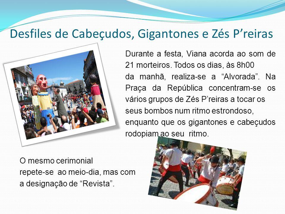 Desfiles de Cabeçudos, Gigantones e Zés P'reiras