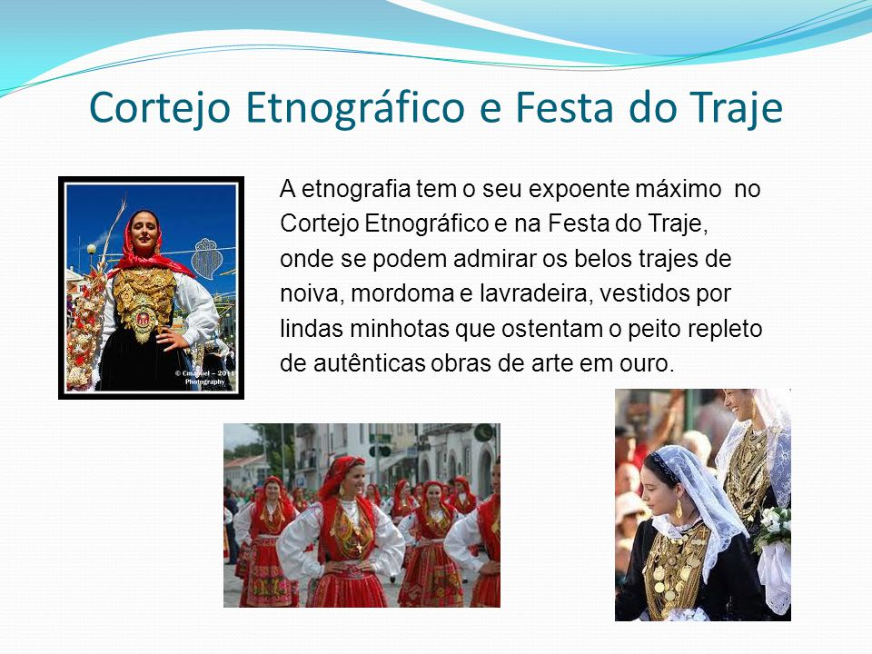Cortejo Etnográfico e Festa do Traje