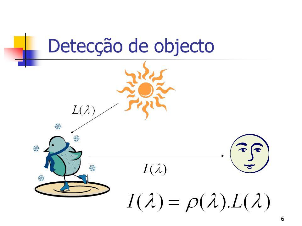 Detecção de objecto