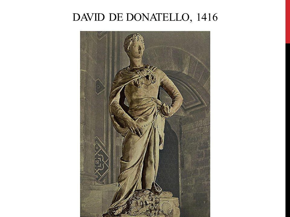 David de Donatello, 1416