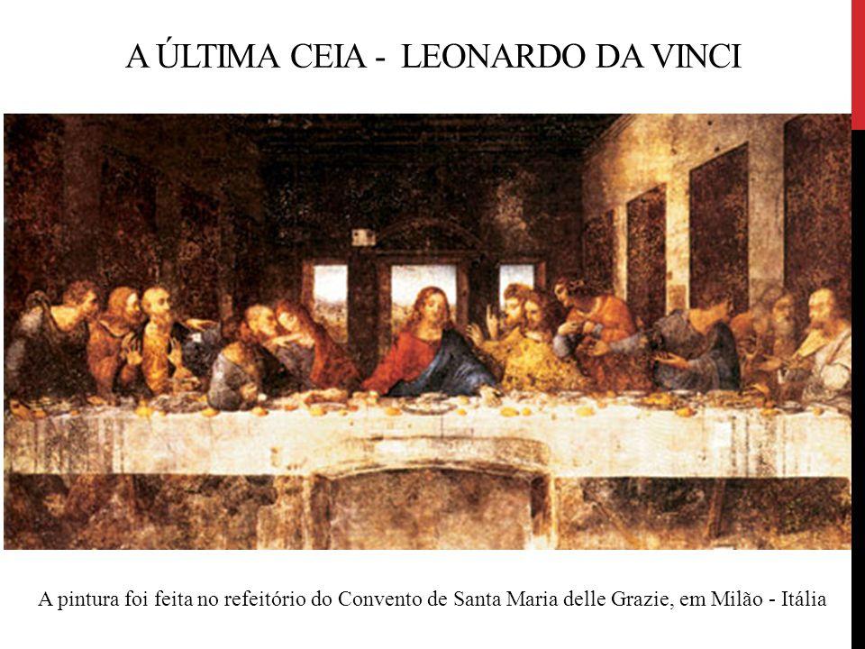 A Última Ceia - Leonardo da Vinci