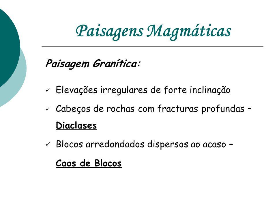 Paisagens Magmáticas Paisagem Granítica: