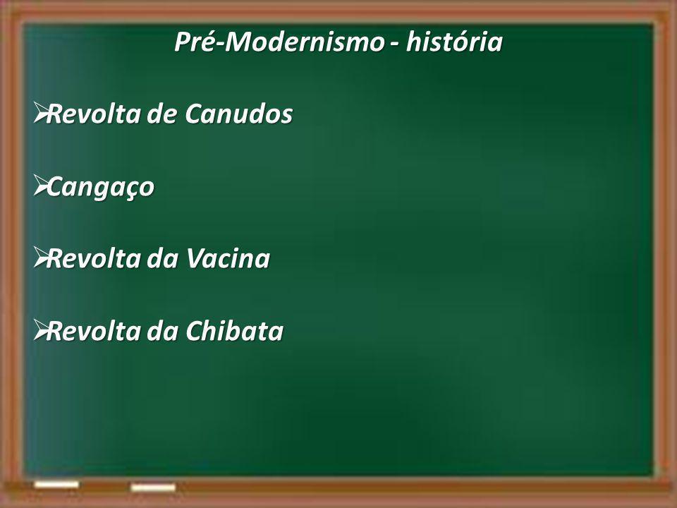 Pré-Modernismo - história
