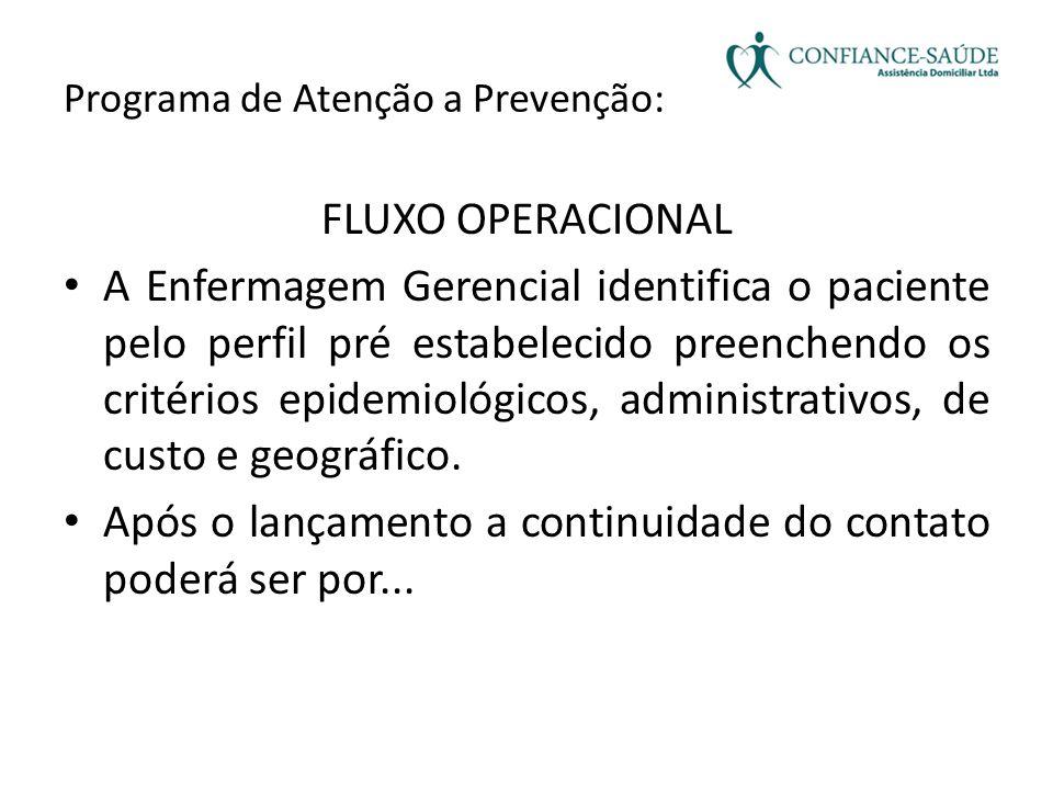 Programa de Atenção a Prevenção:
