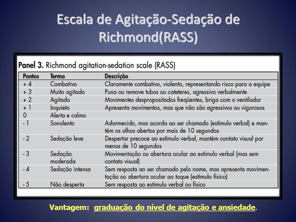 Escala de Agitação-Sedação de Richmond(RASS)