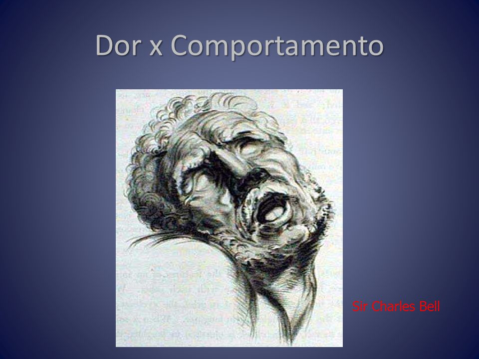 Dor x Comportamento Sir Charles Bell