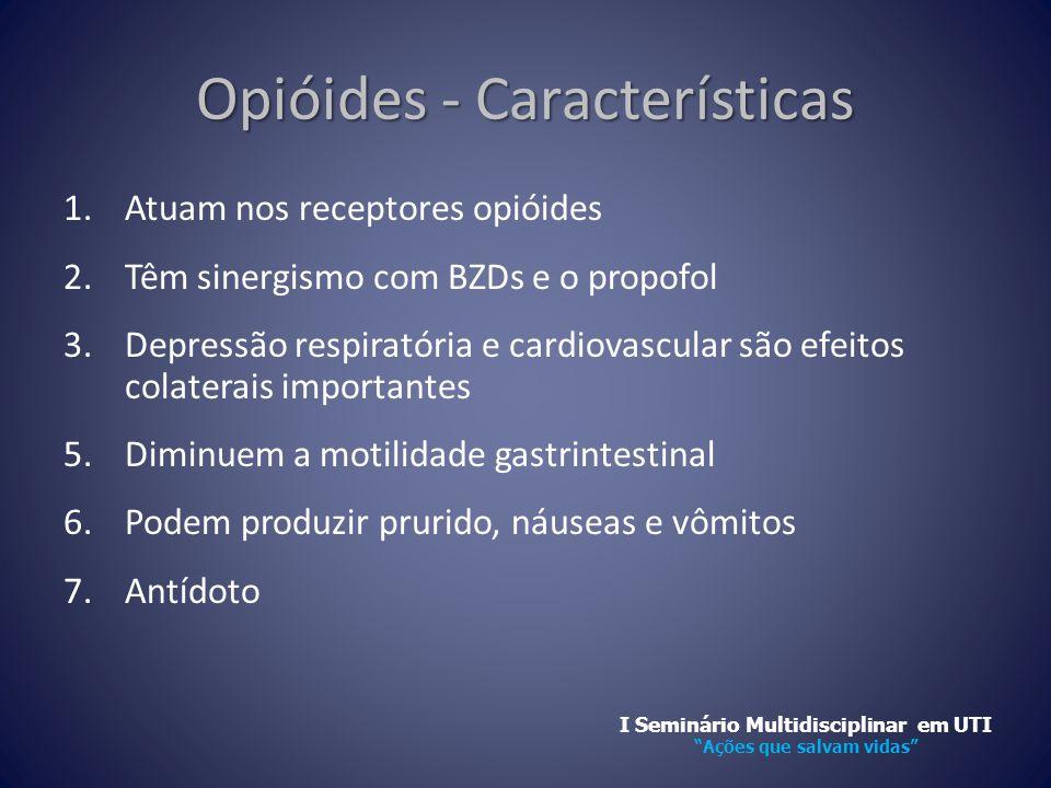 Opióides - Características