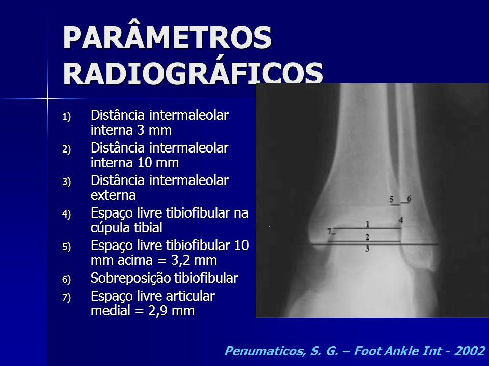 PARÂMETROS RADIOGRÁFICOS
