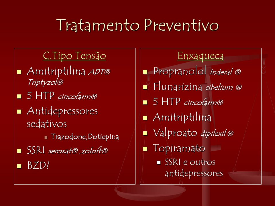 Tratamento Preventivo