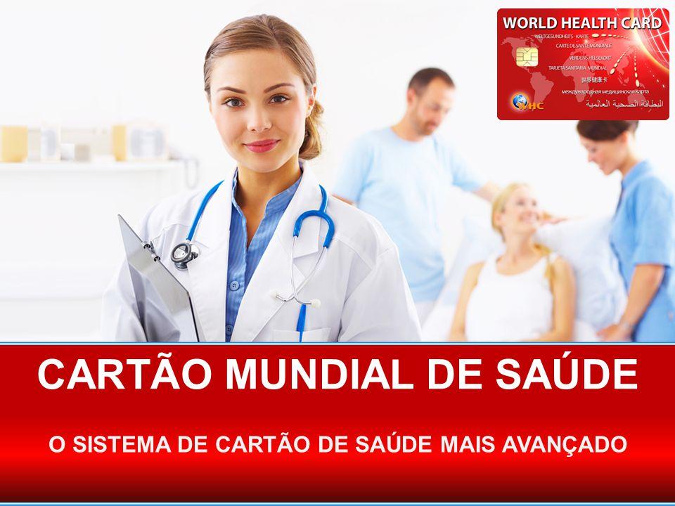 CARTÃO MUNDIAL DE SAÚDE
