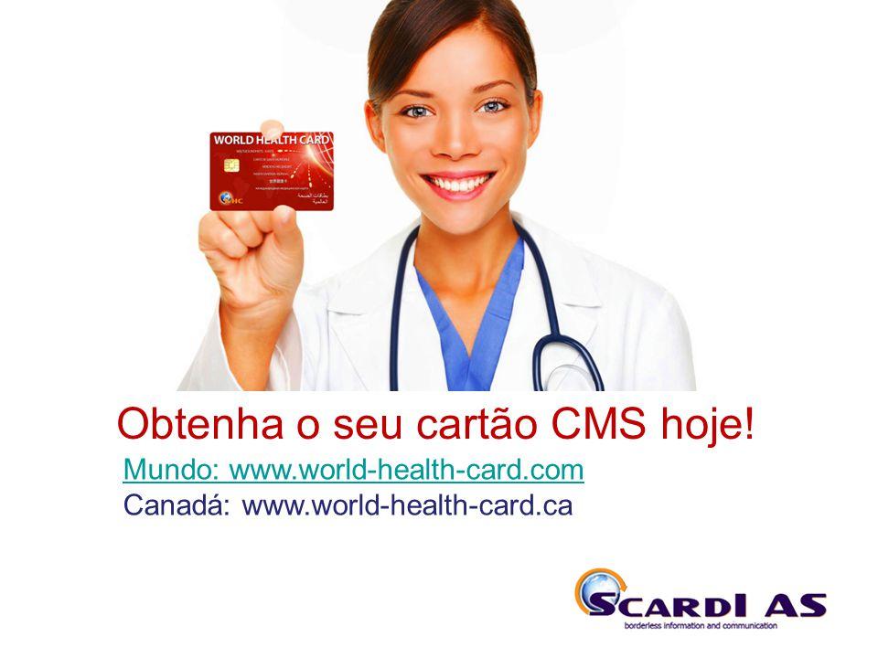 THE SYSTEM Obtenha o seu cartão CMS hoje!