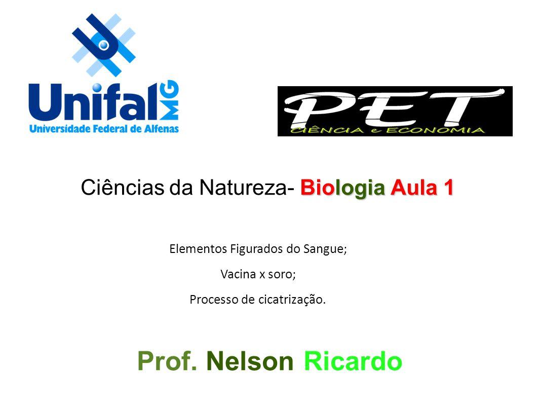 Prof. Nelson Ricardo Ciências da Natureza- Biologia Aula 1