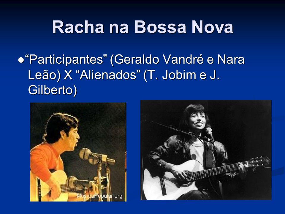 Racha na Bossa Nova ● Participantes (Geraldo Vandré e Nara Leão) X Alienados (T.