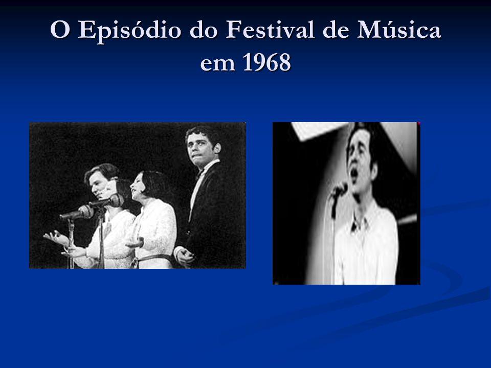 O Episódio do Festival de Música em 1968