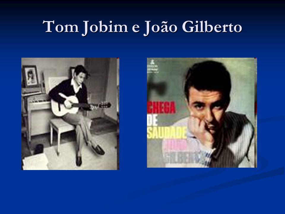 Tom Jobim e João Gilberto