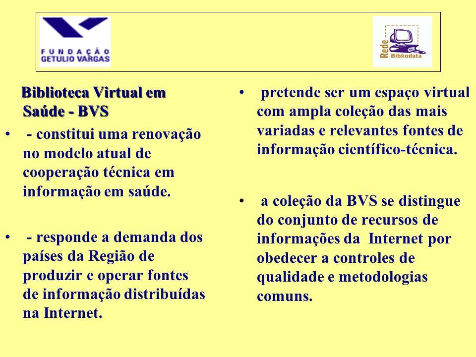 Biblioteca Virtual em Saúde - BVS