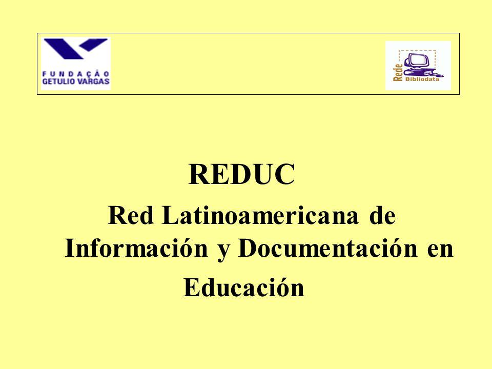 Red Latinoamericana de Información y Documentación en Educación